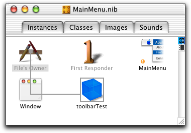 sample toolbar